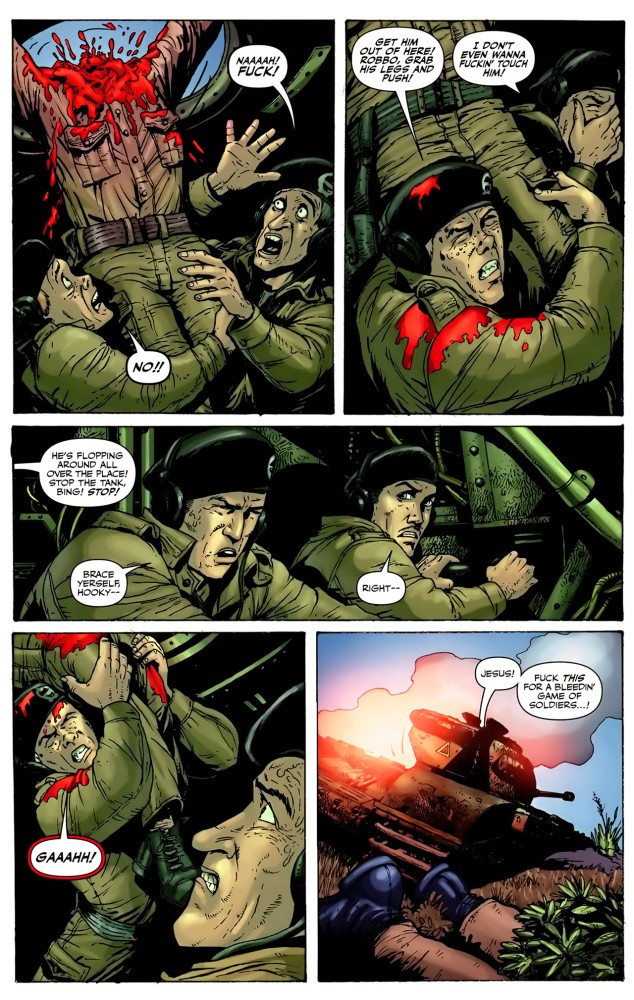 Garth Ennis Downloadable Suicide